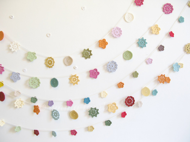 Forever flower garlands and Petite flower garlands | Emma Lamb