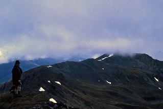 Don Frank, St. Arnaud Range, Nelson Lakes, New Zealand, 1969
