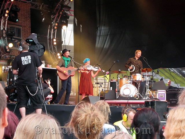 Ilosaarirock 2011 - Samuli Putro