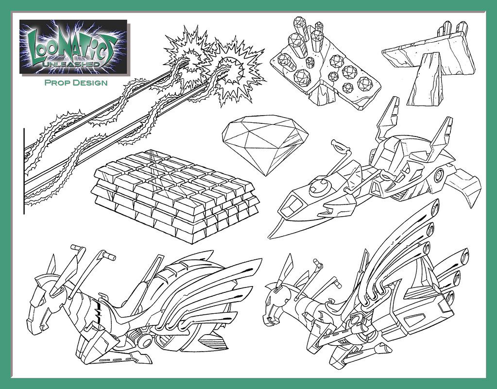 loonatics unleashed coloring pages - photo#14