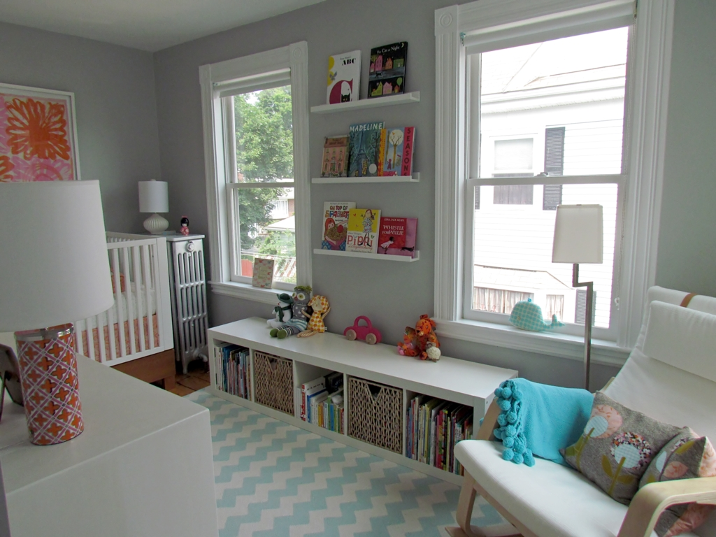 Nursery Inspiration Grey Walls