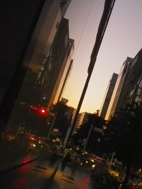 GInza sunset
