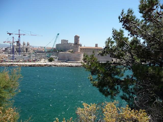 Vue depuis Le Palais du Pharo - Marseille