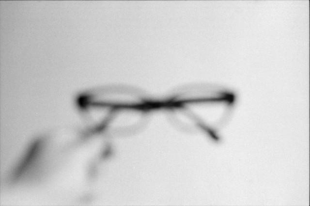 滲みメガネ
