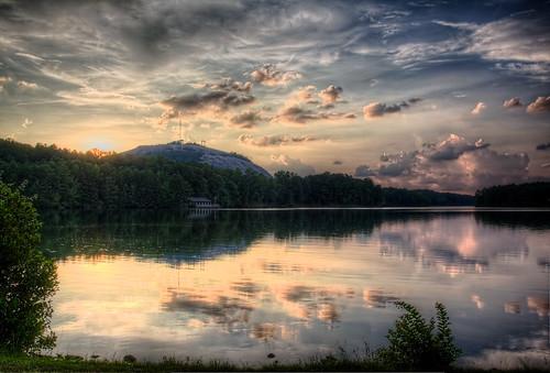 lake reflection nature 365 stonemountain hdr photomatix tonemapped canoneos60d