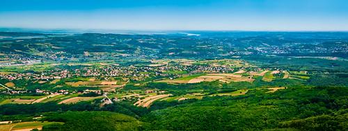 panorama tower landscape view serbia belgrade beograd srbija avala