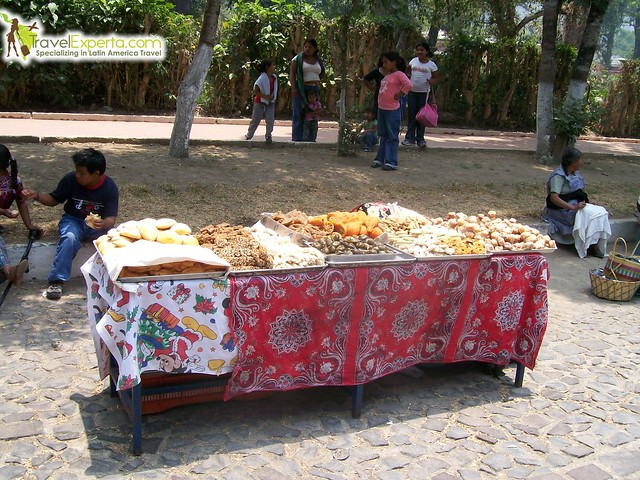 Street Food Stand antigua guatemala