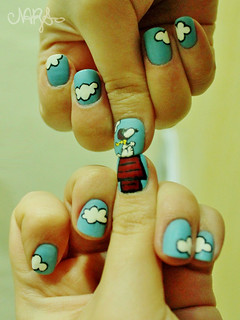 Snoopy NailArt