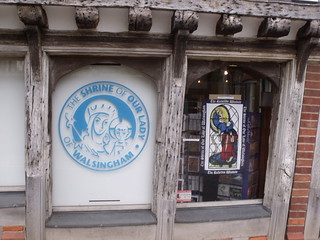 The Shrine Shop - Little Walsingham - The Shrine of Our Lady of Walsingham by ell brown, on Flickr