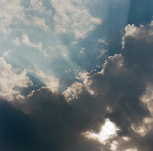 blue sunset sky cloud 120 japan hasselblad 雲 nagano 夕日 空 長野 azumino 安曇野 hotaka 6×6 kodakportra400 ハッセルブラッド 穂高 503cx