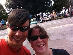 Me and @anabellebf at #vanpride #vanpride2011