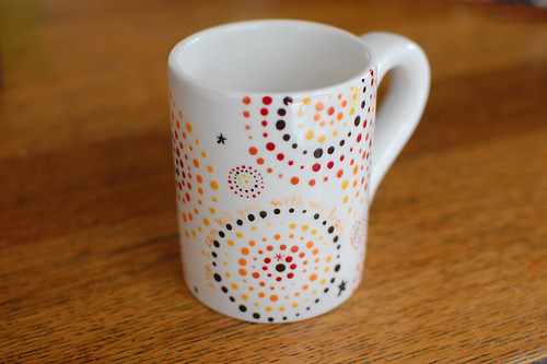 Bex's whimsical Firefly mug