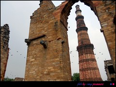 Standing Tall- Qutb Minar by ramyadelhi
