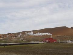 Krafla Geothermal Power Plant