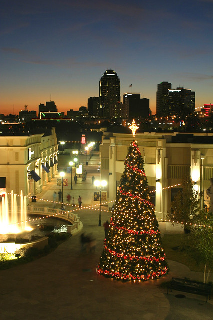 December on the red louisiana boardwalk christmas tree b flickr