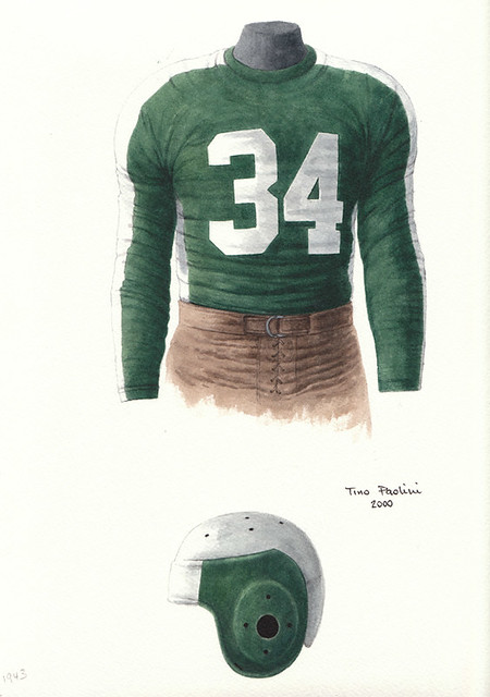 Pittsburgh Steelers aka Phil-Pitt Steagles 1943 uniform ...