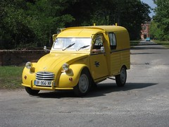 automobile, van, vehicle, citroã«n acadiane, land vehicle, motor vehicle,