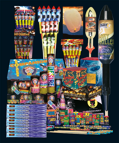 Epic Fireworks 2011 Display Packs - Guido's Party Pack