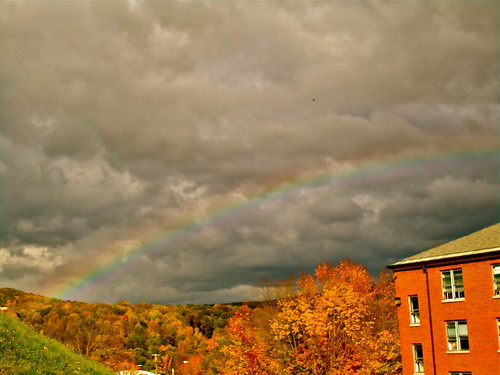 Rainbow over Smith Hall
