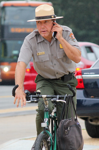 Bill Line, park ranger