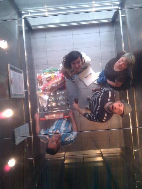 Famile @dinovansaurier von oben