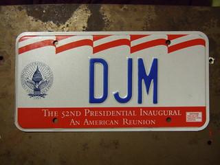 USA, PRESIDENTIAL INAUGURATION 1993 ---CLINTON GORE #DJM