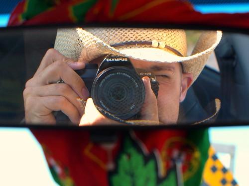portrait ontario canada self mirror view rear grafton