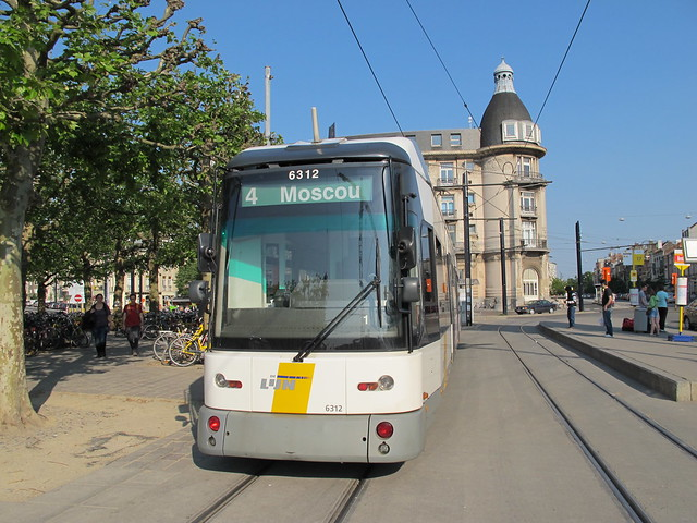 Gent tram to moscou