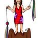 SARA- Ilustración para una camiseta (Encargo)