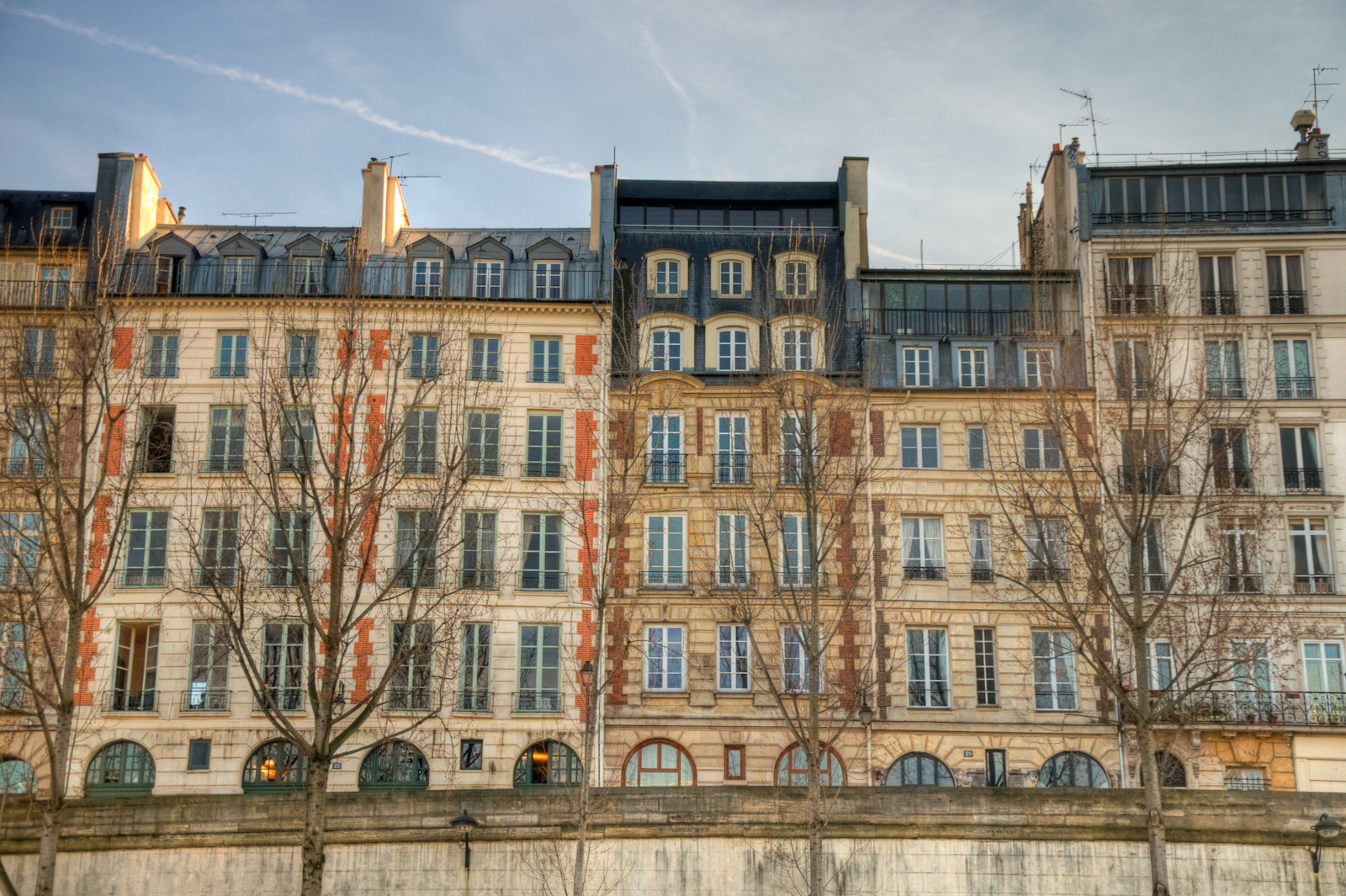 Paris Apartment Row