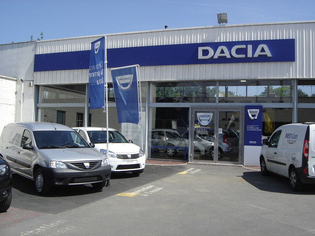 nieppe garage de la lys dacia flickr photo sharing