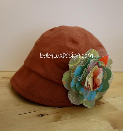 babyluxdesign fabric flower