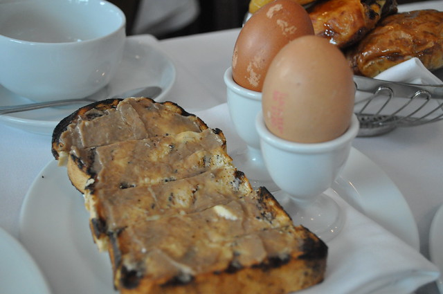 Boiled eggs with Anchovy on toast | Flickr - Photo Sharing!