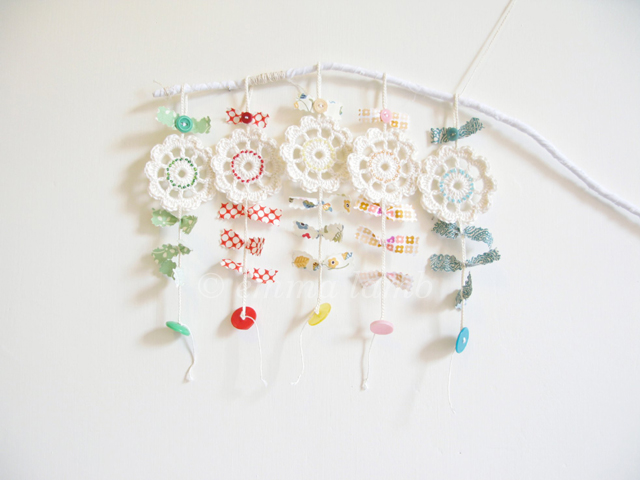 Wee flower charms | Emma Lamb