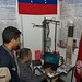 Tue, 2011-07-19 10:41 - Students from Venezuela demonstrate their ultraviolet well water purification and filtration system.