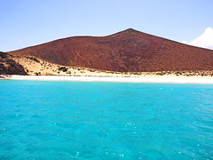 Turquoise Seas around La Graciosa