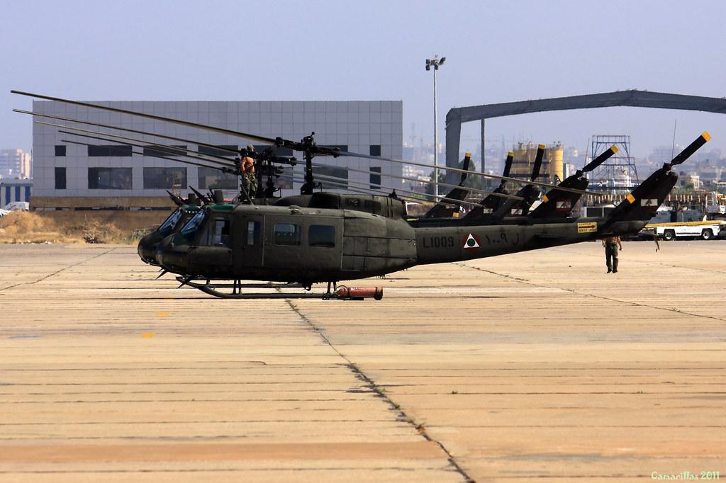 UH1-H L-1009 Libanese Air Force