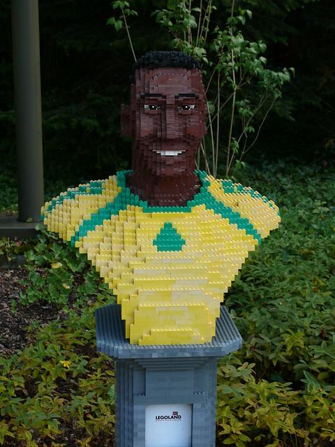 LEGO-Büste: Pelé