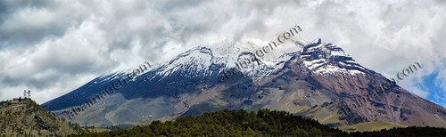 Panorama Volcán Popocatepetl