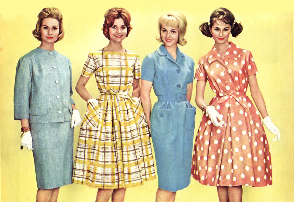the 1960s1960 dresses and skirt suit