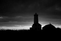 Lighthouse at Midnight
