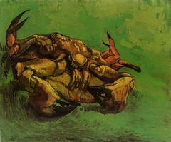 Vincent Van Gogh, Crab on Its Back, 1889