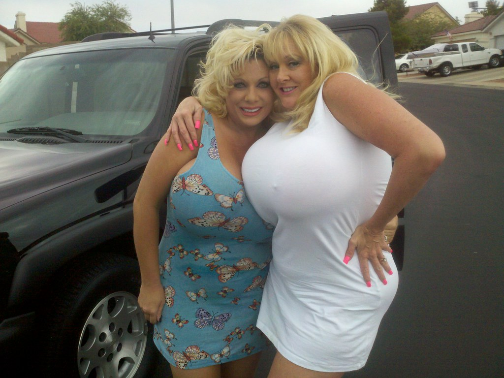 Kayla Kleevage And Claudia Marie Goofing Around