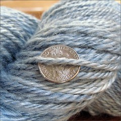 Silver Lake handspun, close up
