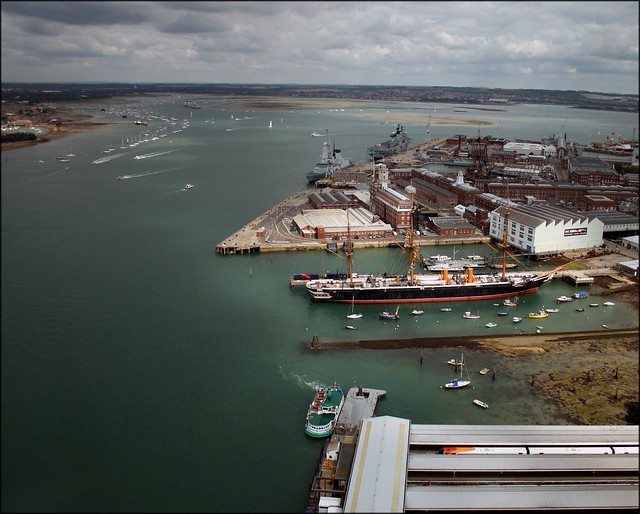 View from the Spinnaker Tower, Portsmouth