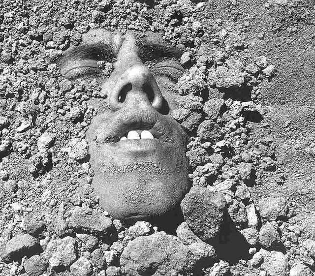 Face in the Dirt, by David Wojnarowicz