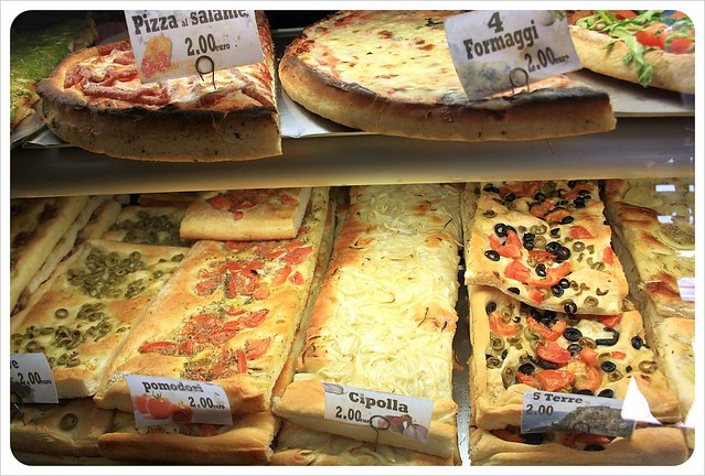 Pizza - you gotta love Italy!