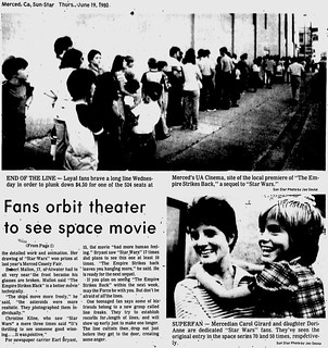 Fans - Fans orbit theater to see space movie - Merced Ca Sun-Star - 1980-06-19