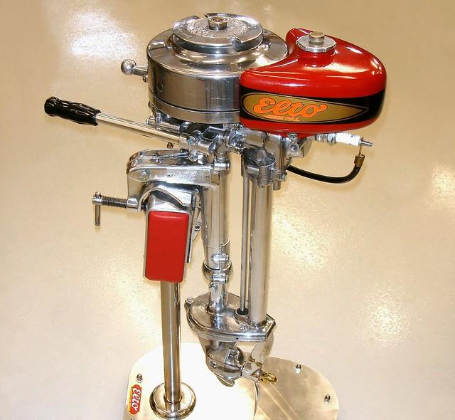 Outboard motor evinrude elto used outboard motors for for Used evinrude boat motors for sale