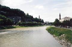 The Salzach, Salzburg, Austria